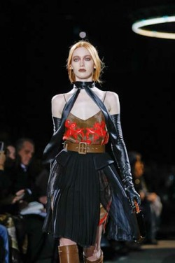 At Givenchy, models or vampires?