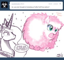 askprincessmolestia:  Ask Princess Molestia #149