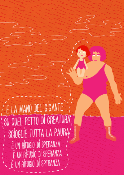 1 of 5 Il gigante e la bambinaTribute to Lucio Dalla.Poet, singer, man of the people.