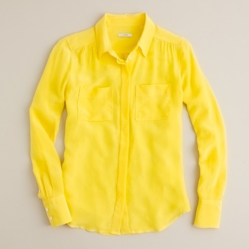 J Crew blouse   (see more tailored shirts)