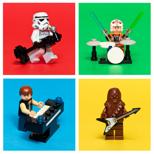 legoexpress:  LEGO Star Wars Rock Band! by pong0814, on Flickr
