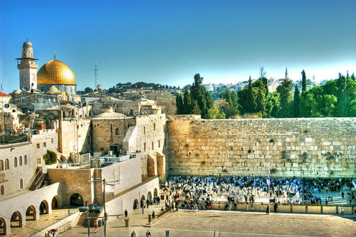 Temple Mount by Shavitos on Flickr.Western Wall