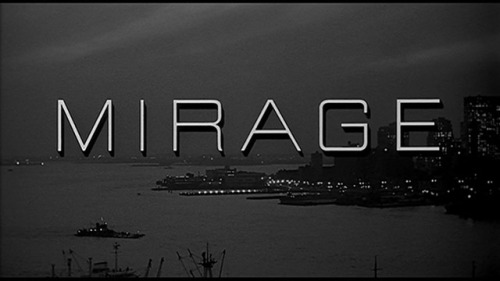 Mirage by Edward Dmytryk - 1965