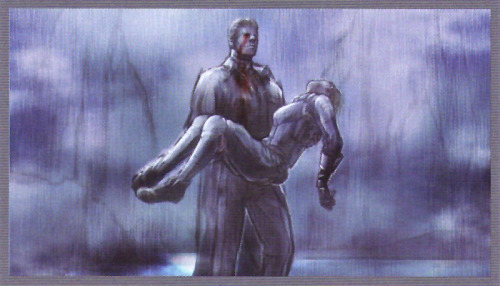 The Art of Resident Evil 5 - Wesker and Jill.