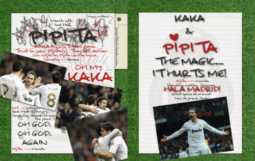 Second Half: 5-0: FIVE! FIVE! FIIIIIIIVE! Kaka & Pipita MAGIC!