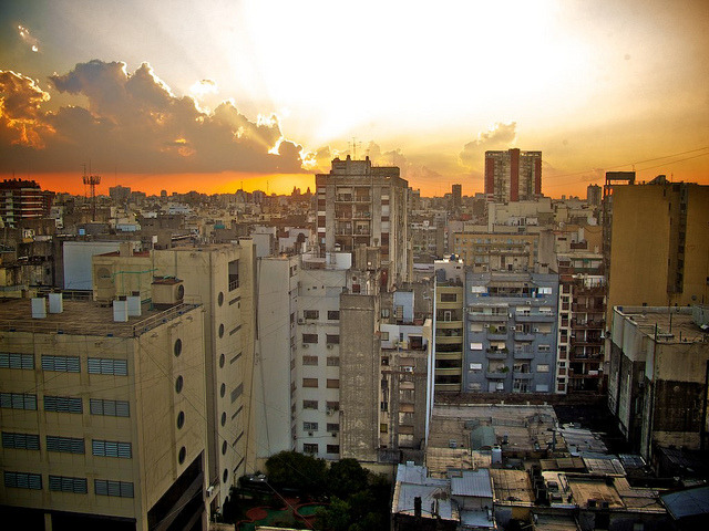 Buenos Aires Sunset by Tur3ine on Flickr.