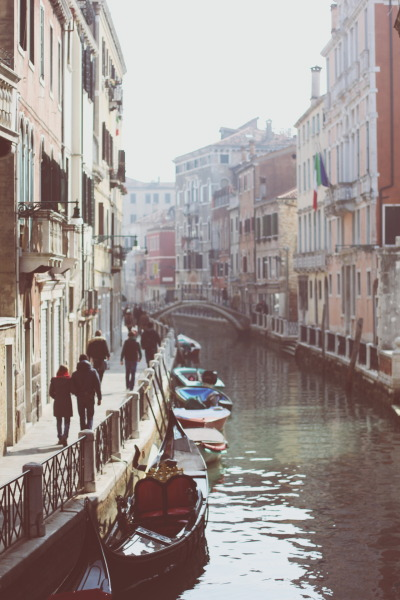 badassfothermucker:  BRING ME BACK TO VENICE PLEASE  I would like to take myself to Venice at some point, as I'm an active individual in my own existence and accept responsibility for my comings and goings. That said, I must visit this exquisite place before it becomes the Atlantis of our time.