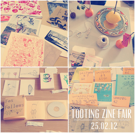 Last week we attended the Tooting Zine Fair organized by Walrus Zines, Other Asias and the Construction Gallery.  We had an amazing day, met so many exciting people and spread the word about the USURP ZINE FAIR.   Many thanks to Sofia for giving us permission to promote USURP Zines. http://tootingzines.tumblr.com/ http://walruszines.blogspot.com/ http://otherasias.webnode.com/