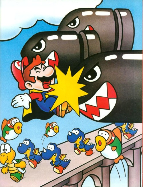 Mario takes a hit in Special World. Looks painful. Could THIS be the end???