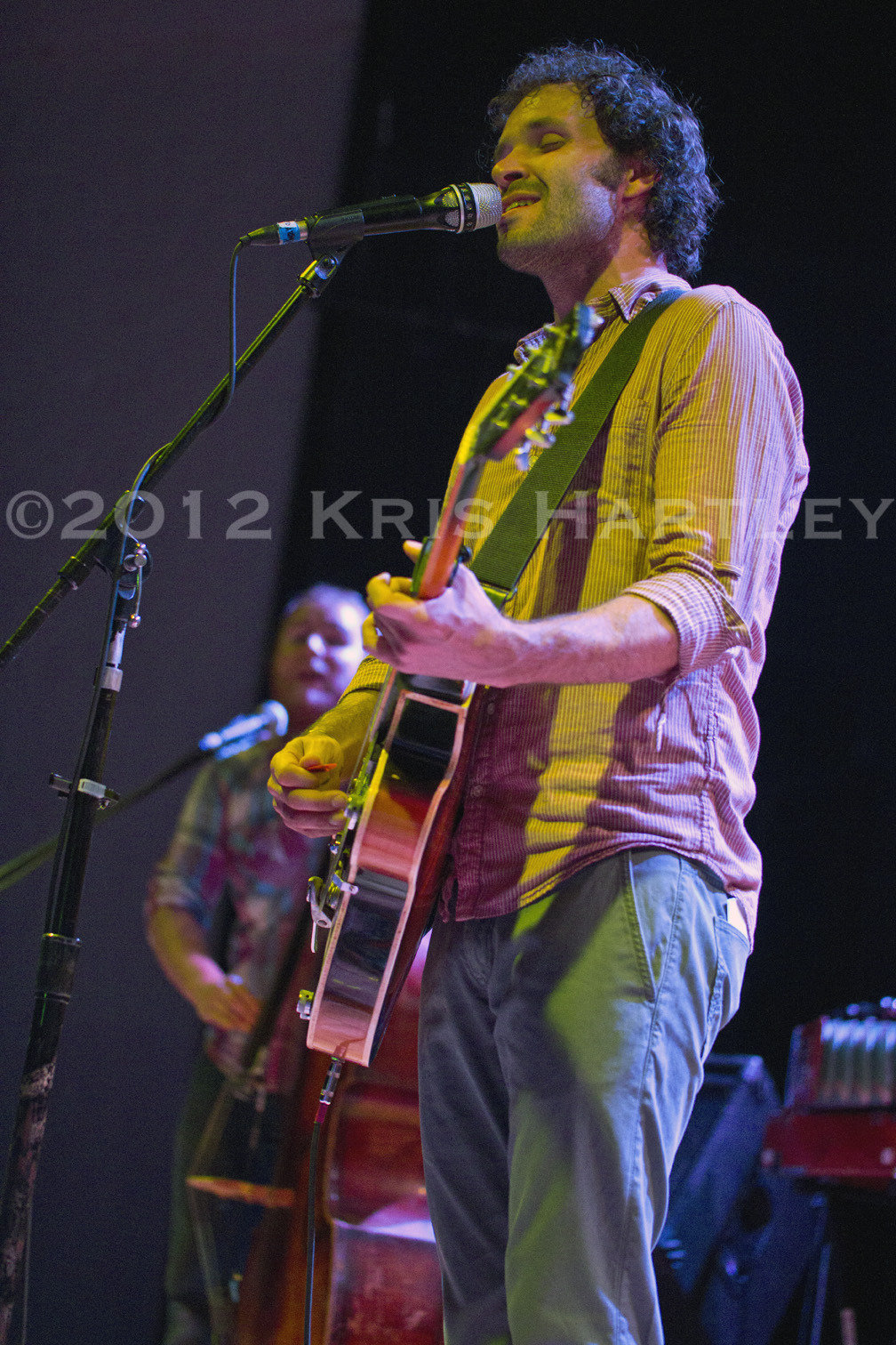 Blind Pilot at The Granada in Lawrence, Kansas last night.