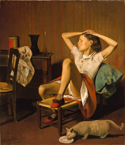 snowce:  Balthus, Therese Dreaming, 1938