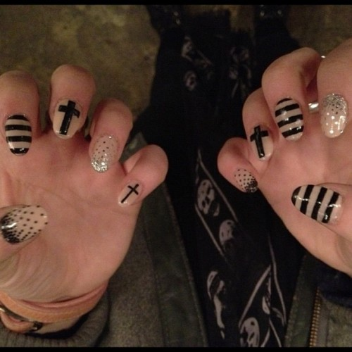 naominailsnyc:  #nailart (Taken with instagram)