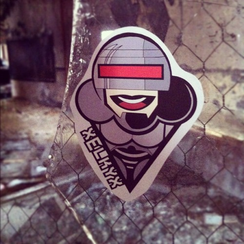 Robocop at the Packard plant