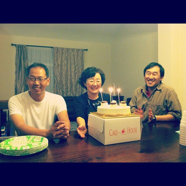 Happy Birthday mom & uncles!!! (Taken with instagram)