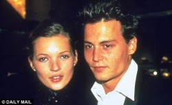 vsandmore:  Kate Moss and Johnny Depp