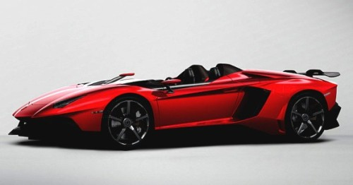 automotivated:  Lamborghini Aventador J Speedster