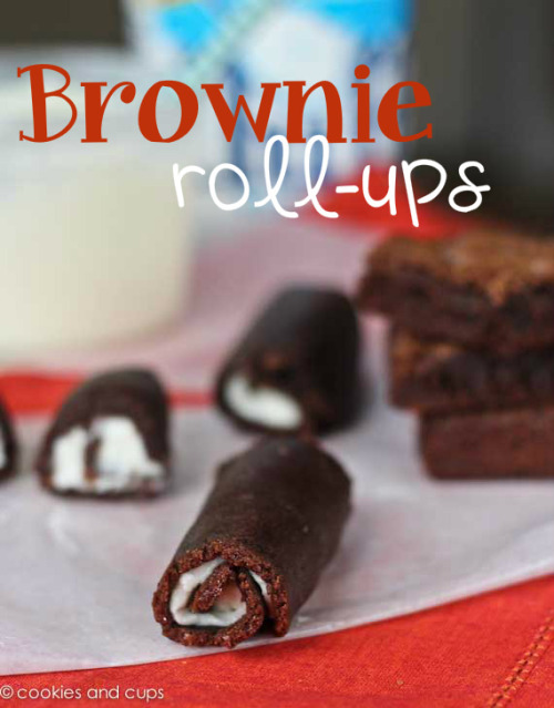 Brownie Roll-Ups click image for recipe