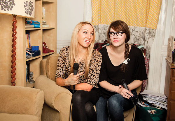 nikkiglaser:  Thank you, Gaby! gabydunn:  somuchfunithurts:  Two Women Joined by Justin Timberlake | NYTimes Hobots and Brobots, stand tall. See also: their new episode of You Had to be There with Kyle Kinane  Yay! I wrote this! my fave podcast!