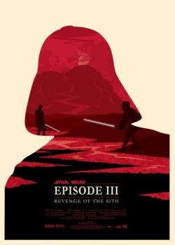 Revenge of the Sith by Olly Moss