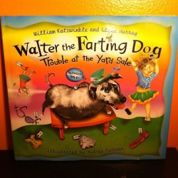 Great children's book I found at a sidewalk sale. Sure to be a classic for future generations. (Taken with instagram)