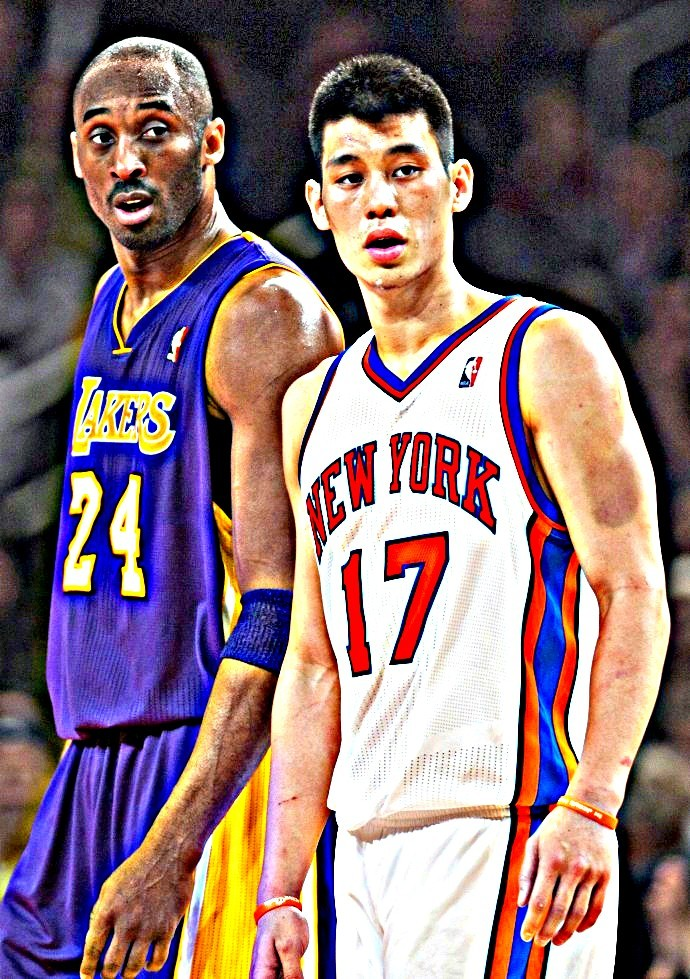 the black mamba with lin-sanity..