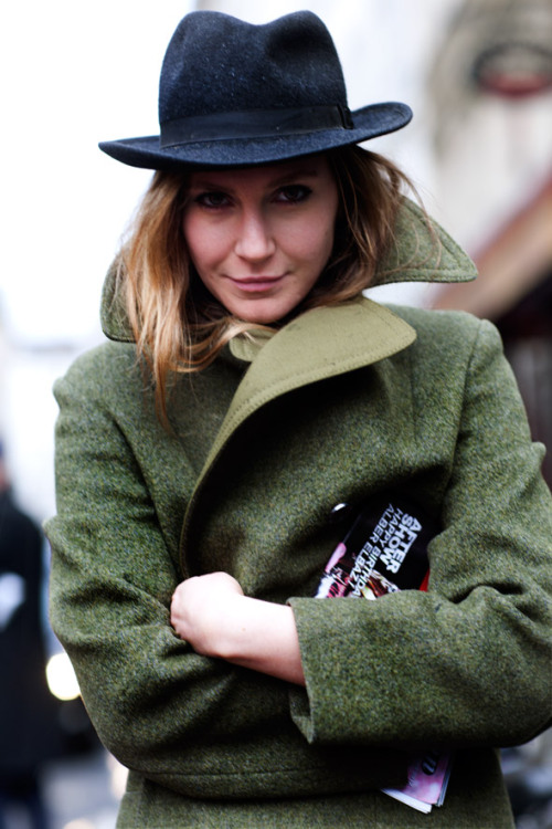 calivintage:  paris street style by The Sartorialist.