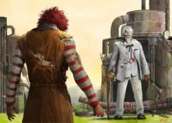 Ronald McDonald vs Colonel Sanders. Fight!