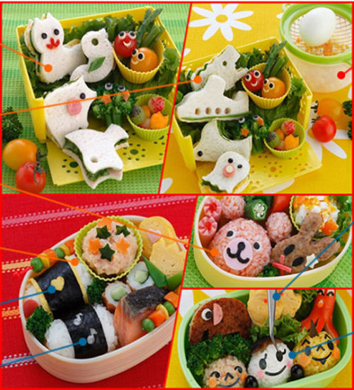 opalraynes:  It may be just my asian-half but I really want a cute bento for lunch one day!