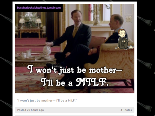 Yet another reason why the Mycroft Shimeji is my favorite.