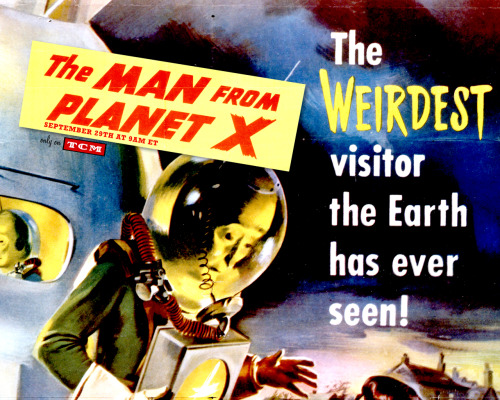 TCM Wallpaper for The Man From Planet X.