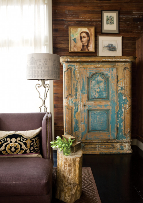 crushculdesac:  Barbara Westbrook Home | Photo: Erica George Dines for Atlanta Homes Magazine | via The New Victorian Ruralist