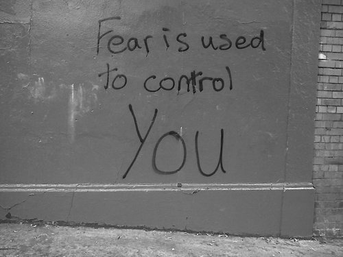 Fear does not control me…