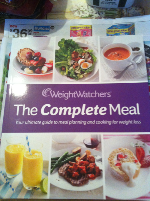 New Weight Watchers cookbook. Lotsa new meal inspiration!