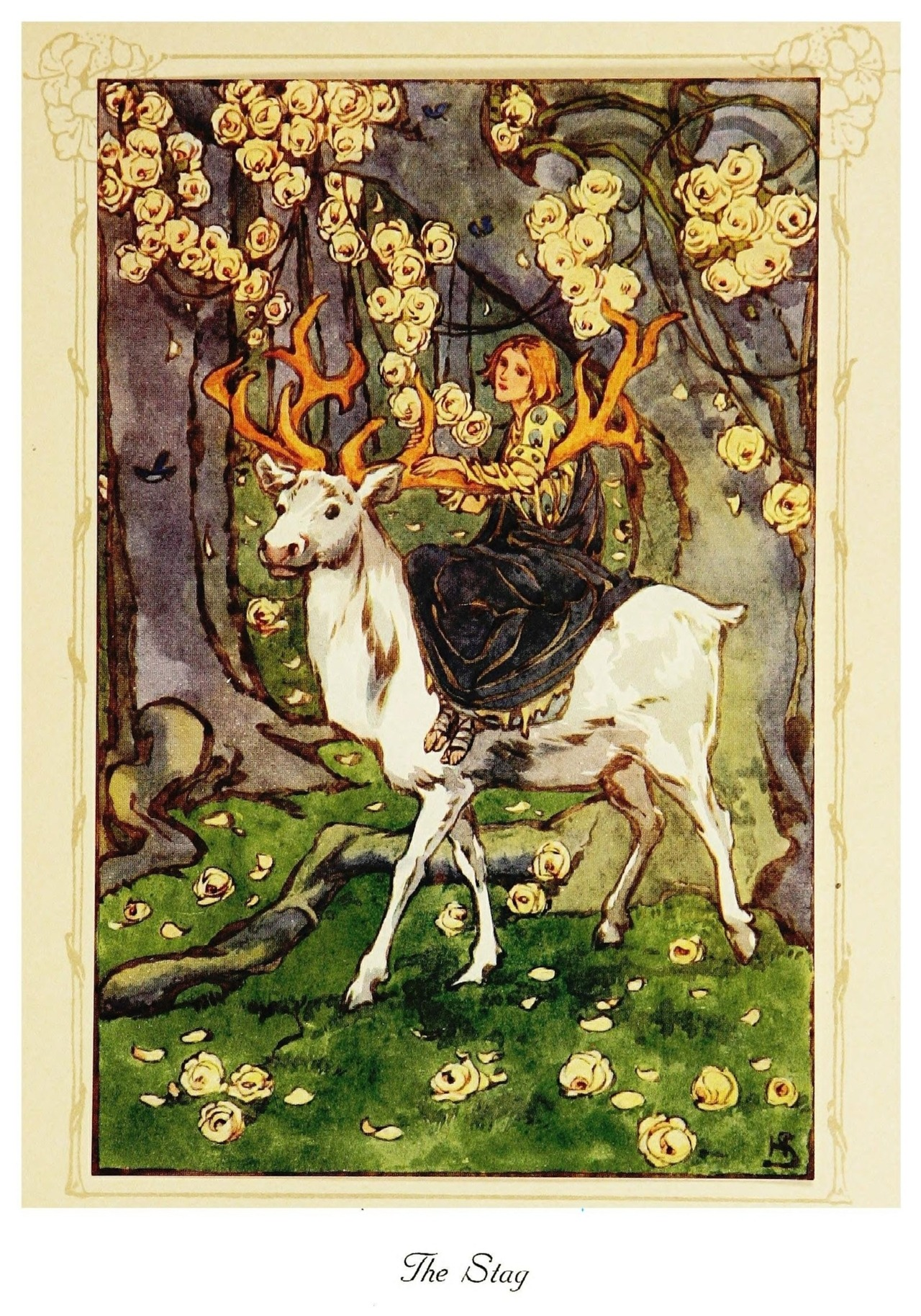 Helen Stratton ~ The Lily of Life ~The Stag ~ 1913