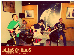 Bagas & The Trio at Blues On Reds, Kopi Merah