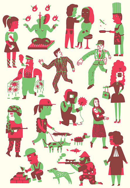 Work by ana albero on Flickr.