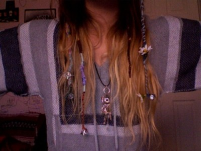 coast-gem:  When i get my hair this long, it'll be all braided like this!! :D Love my braids :)