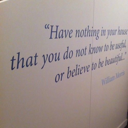 #williammorris (Taken with instagram)