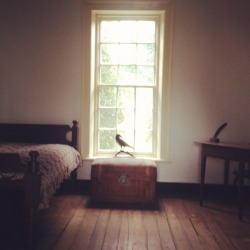 Edgar Allen Poe's room at UVA..