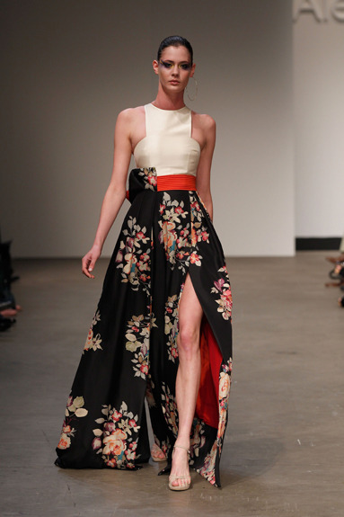 Madre Floral Dress by Australian fashion designer Alex Perry. Melbourne Stockists: David Jones (City), David Jones (Chadstone), Ganache (Port Melbourne), Oscar & Wild (Kew) (View Stockists)