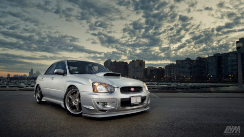 lightnmotion:  More of Derek's WRX.