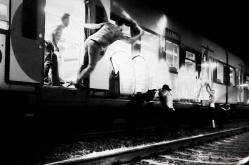 vandalsandtrains:  'Oporto Madness' (photo cropped slightly from original size)