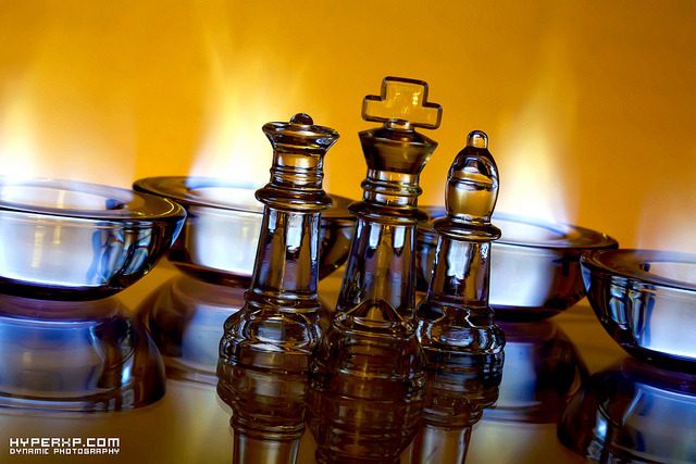 Illuminated Chess 1 on Flickr.