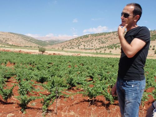 "Walid is a grape farmer with Coteaux d'Heliopolis producer organization. The  cooperative of grape-growers has 250 members from 11 villages and  provides seasonal employment opportunities to over 400 families in the  North Bekaa region. Read more in the story ""Lebanon joins Fairtrade in New Partnership"" at www.fairtrade.net."
