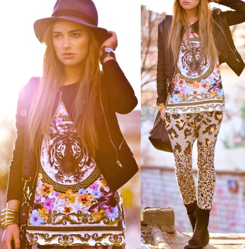 lookbookdotnu:  Jonquil - It's My Part (Co La Remix) / maffashion (by Juliett Kuczynska)