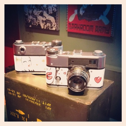 Love Blows Camera by #TaraMcPherson x #darkroomarmy  (Taken with Instagram at Peek!)