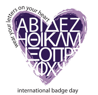 Happy International Badge Day! Make sure you wear your letters in honor of the holiday and change your profile picture to your respective badges!