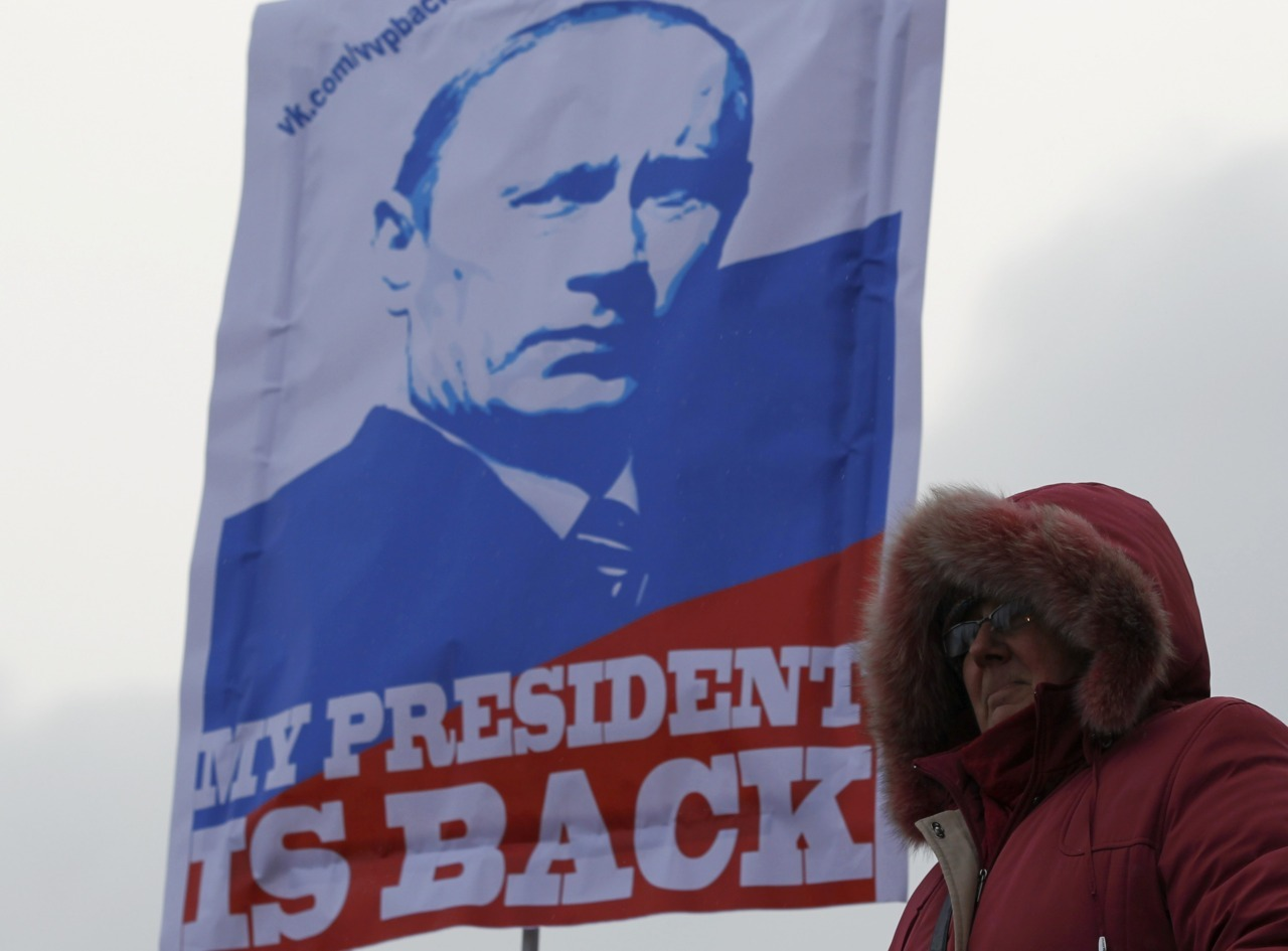 International monitors said Russia's presidential election was clearly skewed to favour Vladimir Putin, a verdict that could spur protesters planning to take to the streets to challenge his right to rule. Putin, who secured almost 64 percent of votes on Sunday, portrayed his emphatic victory for a third term as president as a strong mandate to deal with the biggest anti-Kremlin protests since he rose to power in 2000. But hours before protests were planned to start in central Moscow, vote monitors from the Organization for Security and Co-Operation in Europe echoed his opponents' complaints that the election was slanted against them. Read more: Russian election criticism may spur protests