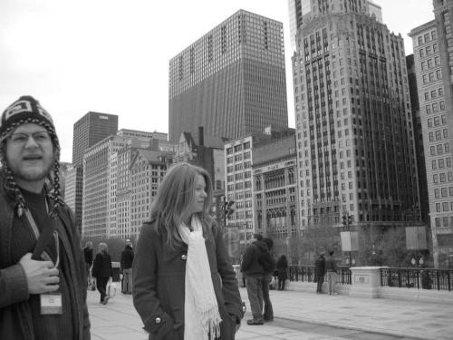 me and evankingston in the windy city