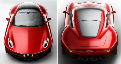 (disco volante 2012 by alfa romeo at geneva motor showから)